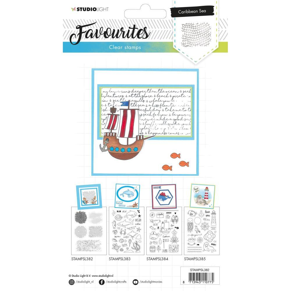 Studio Light Favourites A5 Stamps - Nr. 382