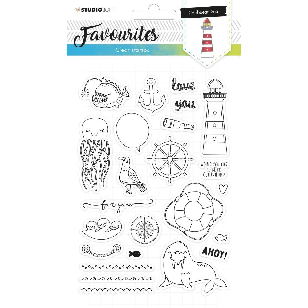 Studio Light Favourites A5 Stamps - Nr. 385