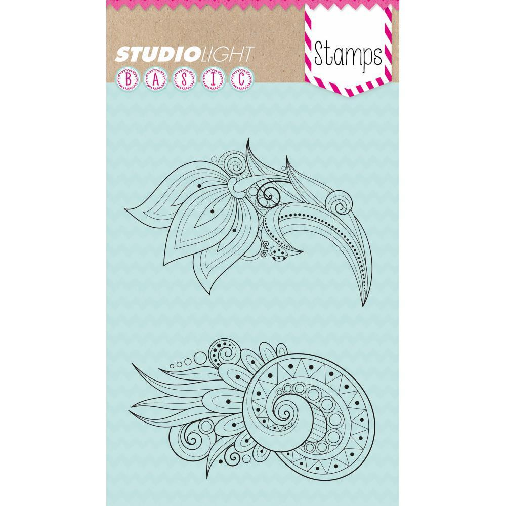 Studio Light Basic A6 Stamps - Flowers