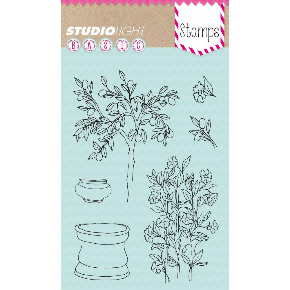 Studio Light Basic A6 Stamps - Fruit Tree