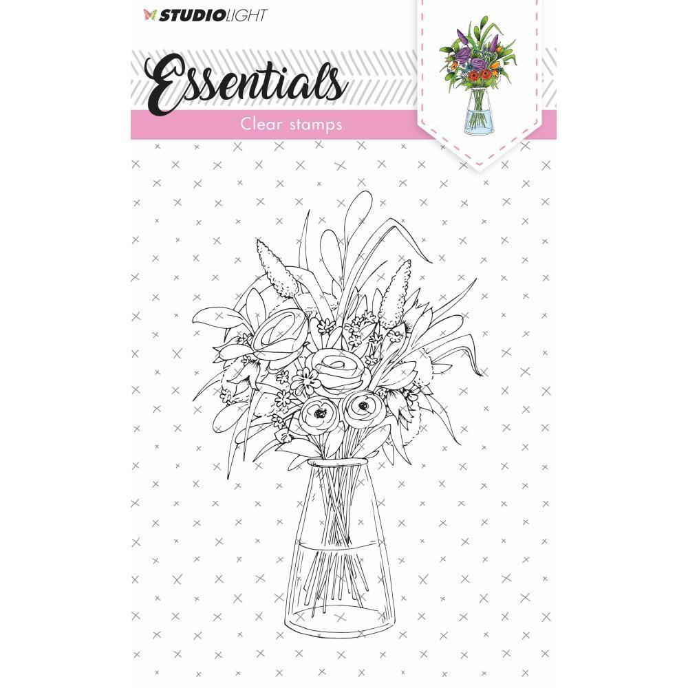 Studio Light Essentials A6 Stamps - Vase