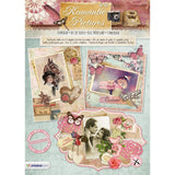 Studio Light Romantic Pictures Die-Cut Card Toppers 12 pack