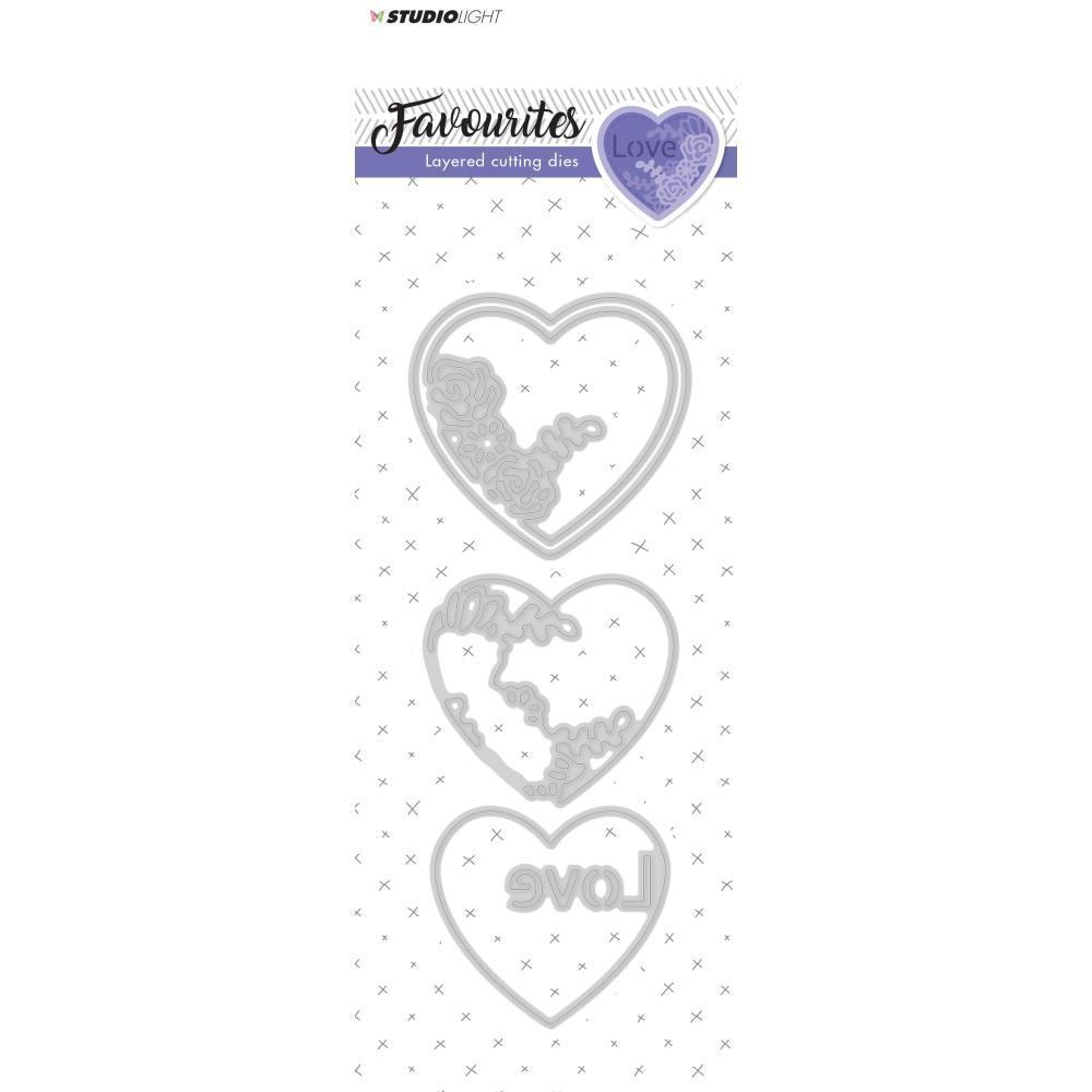 Studio Light Favourites Layered Cutting & Embossing Die - No. 147