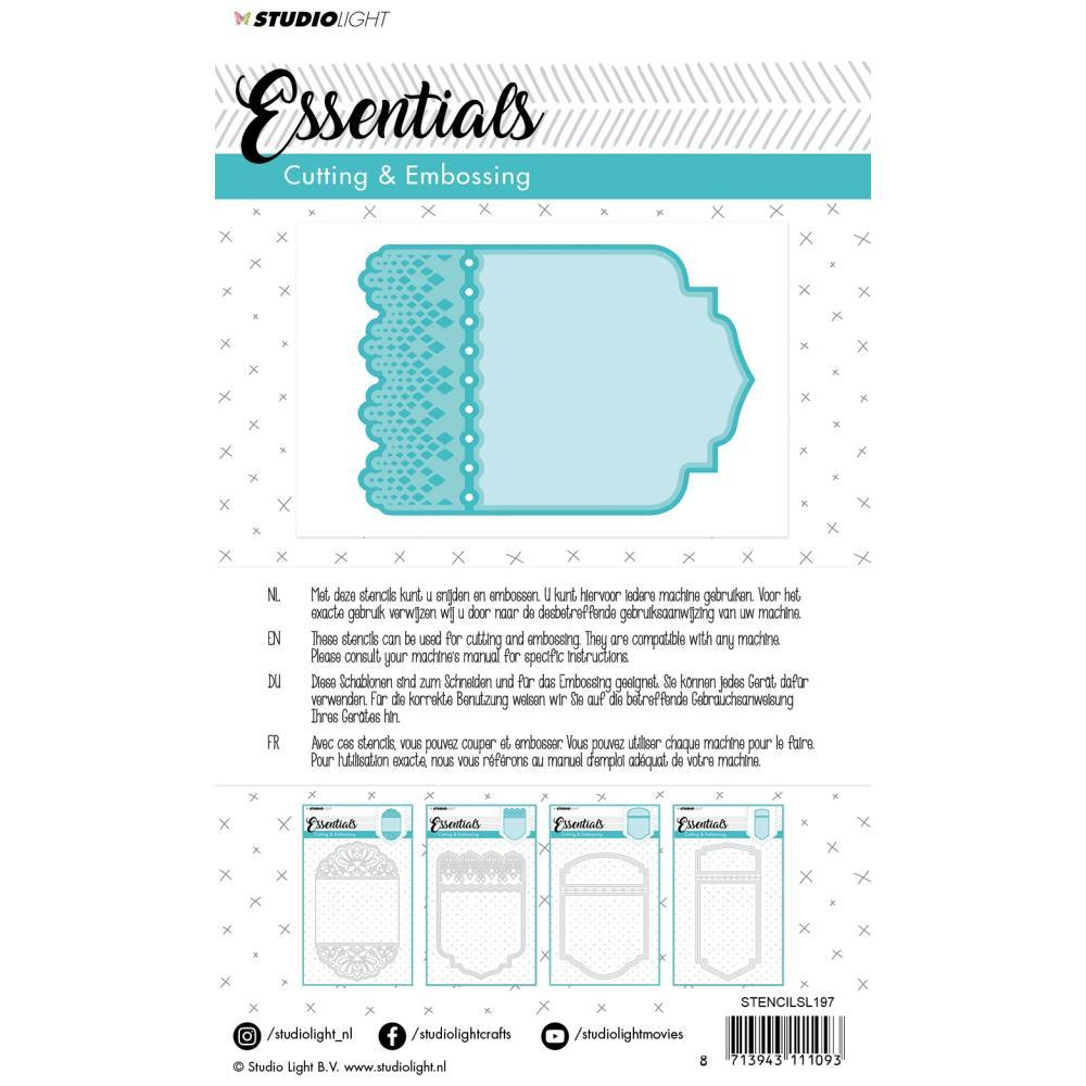 Studio Light Essentials Cutting & Embossing Die - Nr. 197