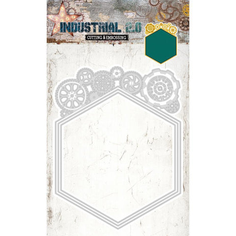 Studio Light Industrial 2.0 4.5 inch X8 inch Cutting & Embossing Die Gear Frame
