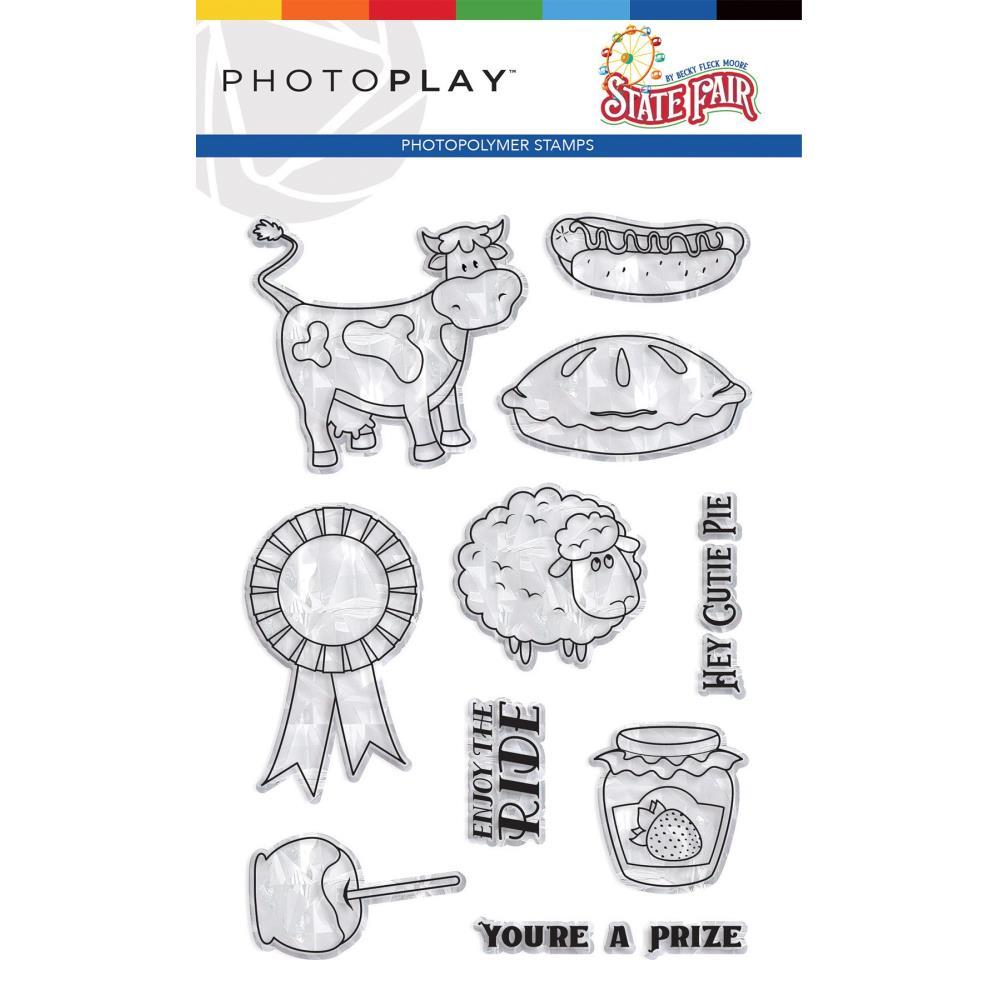 PhotoPlay - Photopolymer Stamp - State Fair