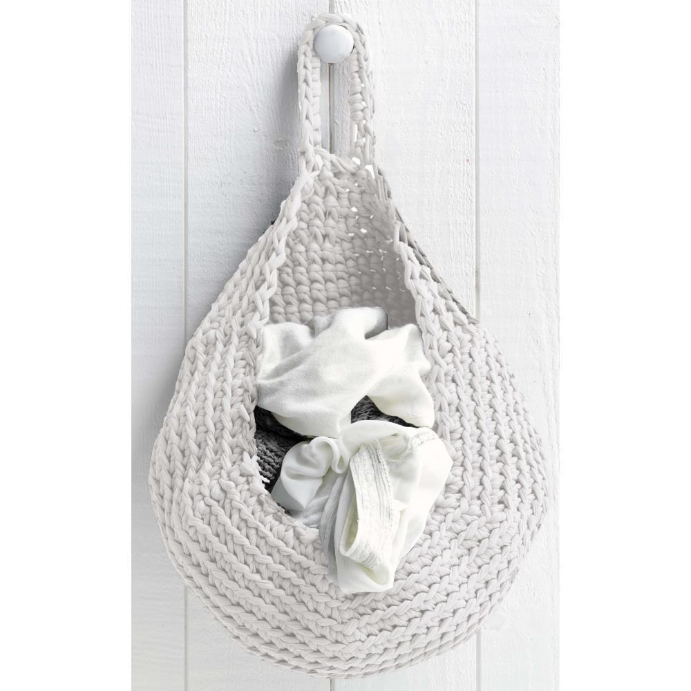 Hoooked Storage Bag Yarn Kit with Zpagetti Yarn - Off White