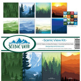 Reminisce Collection Kit 12 inchX12 inch Scenic View