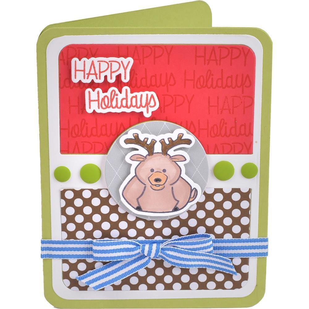 Sizzix Framelits Dies By Stephanie Barnard 11/Pkg - Thanksgiving Pudgies