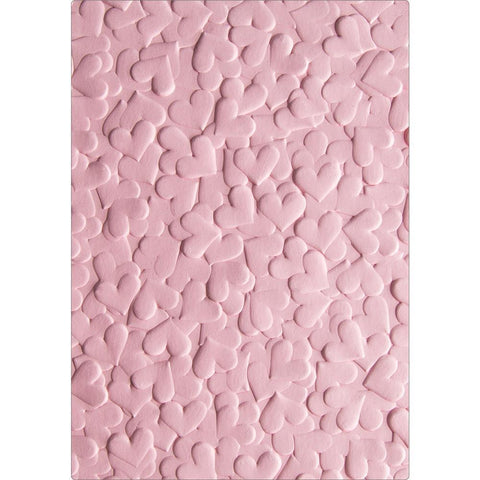 Sizzix 3D Textured Impressions By Lindsey Serata Confetti Hearts