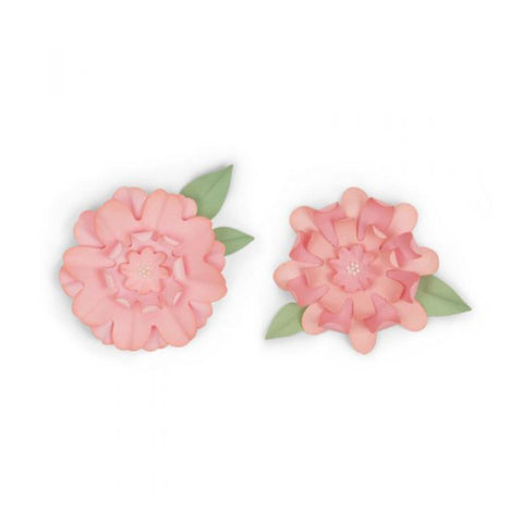 Sizzix - Bigz Die - Flowers With Leaves