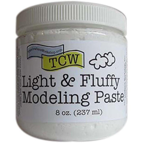 Crafter's Workshop - Light & Fluffy Modelling Paste 8Oz (237Ml)