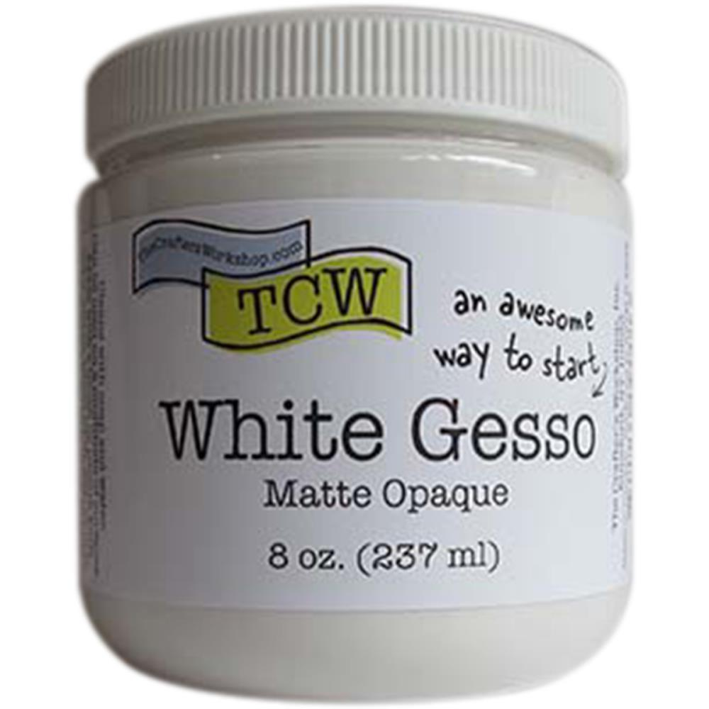Crafters Workshop - Gesso 8oz - White
