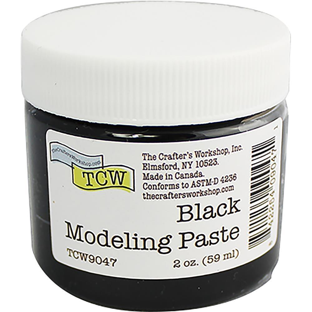 Crafters Workshop Modeling Paste 2oz - Black