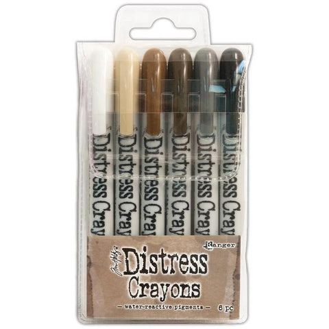 Tim Holtz Ranger Distress Crayon Set 3