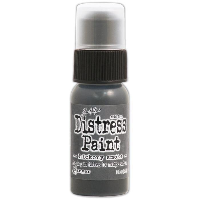 Tim Holtz Distress Paint 1Oz Bottle June - Hickory Smoke