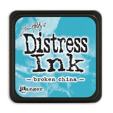 Tim Holtz Distress Mini Ink Pads - Broken China