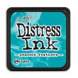 Tim Holtz Distress Mini Ink Pads Peacock Feathers