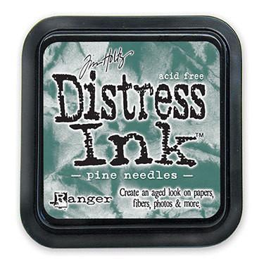 Tim Holtz Distress Mini Ink Pads - Pine Needles