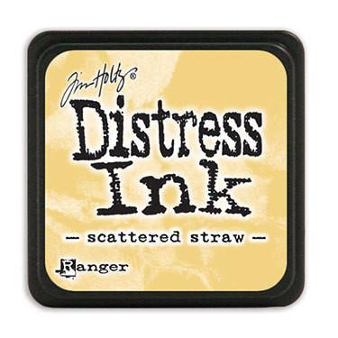 Tim Holtz Distress Mini Ink Pads - Scattered Straw