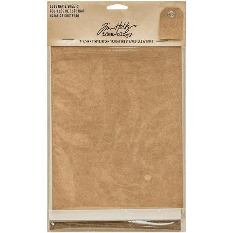 Tim Holtz - Idea-Ology Substrate Sheets - 5.5X7 Inch 9/Pkg