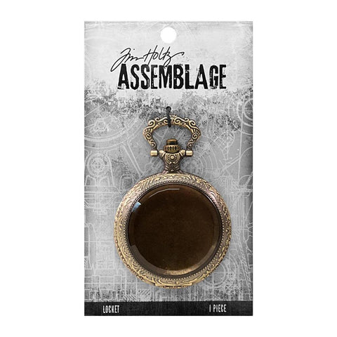 Tim Holtz - Assemblage - Locket Pocket Watch