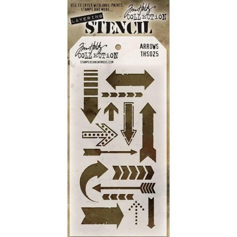Tim Holtz - Layering Stencil - Arrows