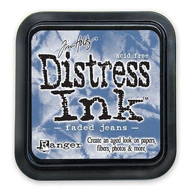 Ranger -Tim Holtz Distress Ink Pad - Faded Jeans