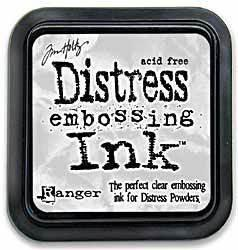 Ranger -Tim Holtz Distress Clear Embossing Ink Pad