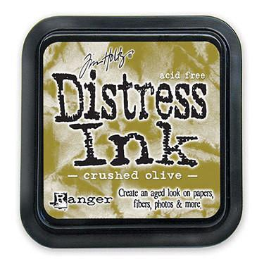 Ranger -Tim Holtz Distress Ink Pad - Crushed Olive