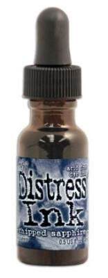 Tim Holtz Distress Spray Stains 1.9Oz Bottle - Chipped Sapphire