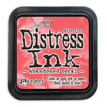 Tim Holtz Distress Ink Pad February-Abandoned Coral