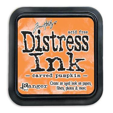 Ranger -Tim Holtz Distress Ink Pad - Carved Pumpkin
