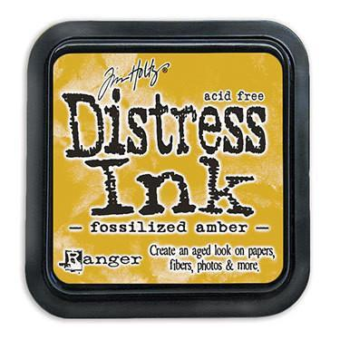 Ranger -Tim Holtz Distress Ink Pad - Fossilized Amber