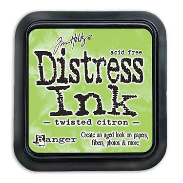 Tim Holtz Distress Ink Pad May-Twisted Citron