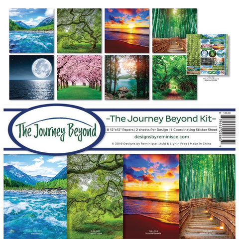 Reminisce Collection Kit 12 inchX12 inch - The Journey Beyond