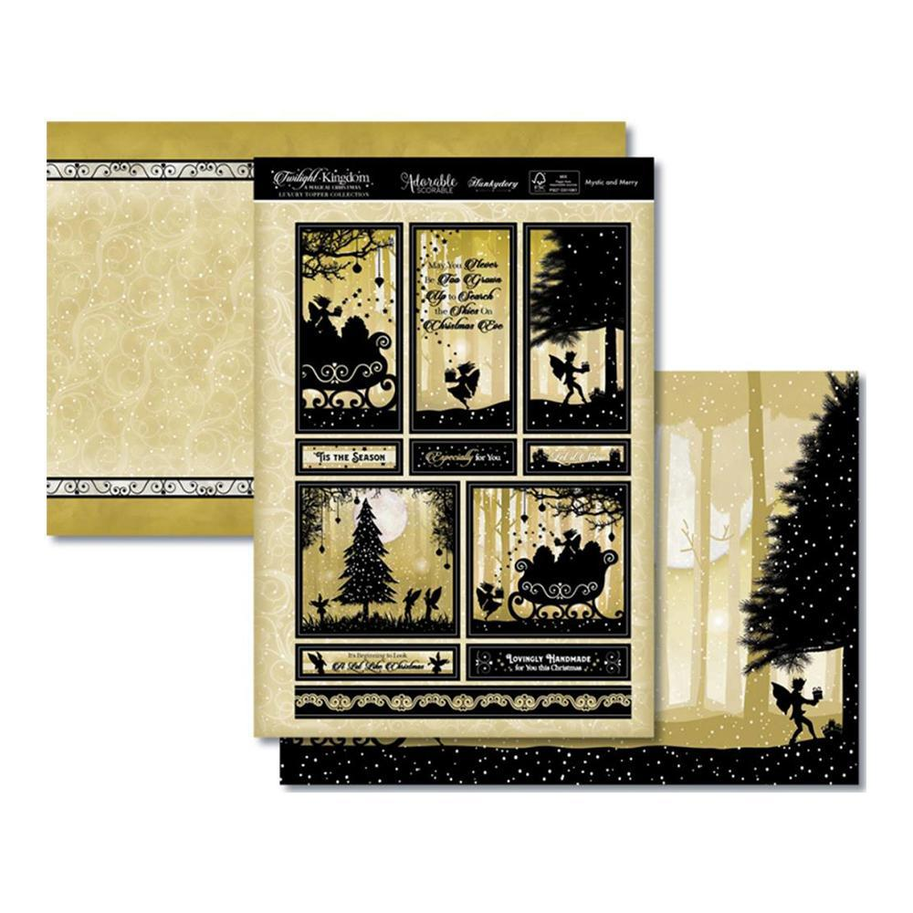 Hunkydory Twilight A Magical Christmas Luxury A4 Topper Set - Mystic & Merry