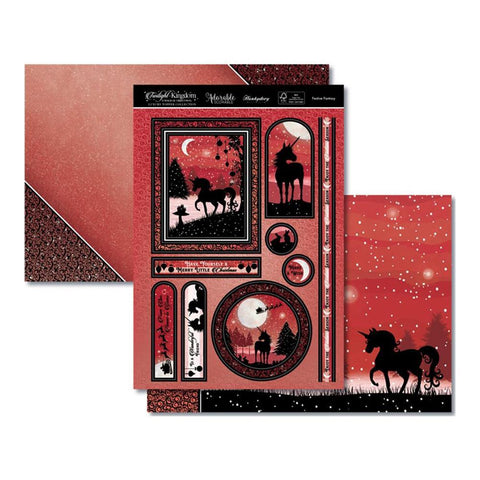 Hunkydory Twilight A Magical Christmas Luxury A4 Topper Set - Festive Fantasy