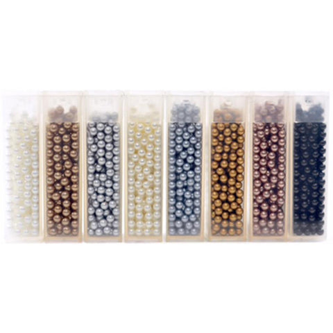 Queen & Co Topping Set 8 pack Pearlies Matte