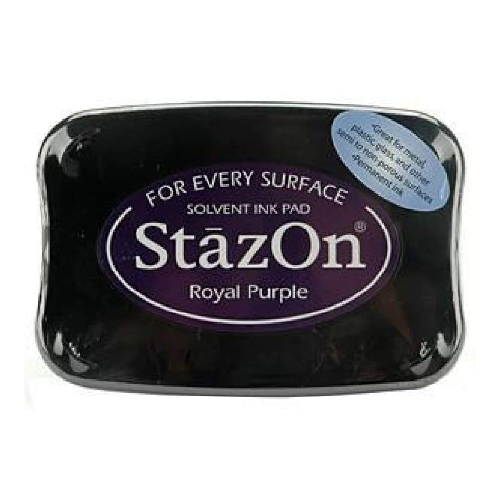 Tsukineko - Stazon Solvent Inkpad - Royal Purple