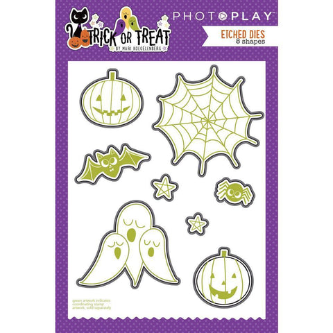 PhotoPlay Etched Die - Trick Or Treat