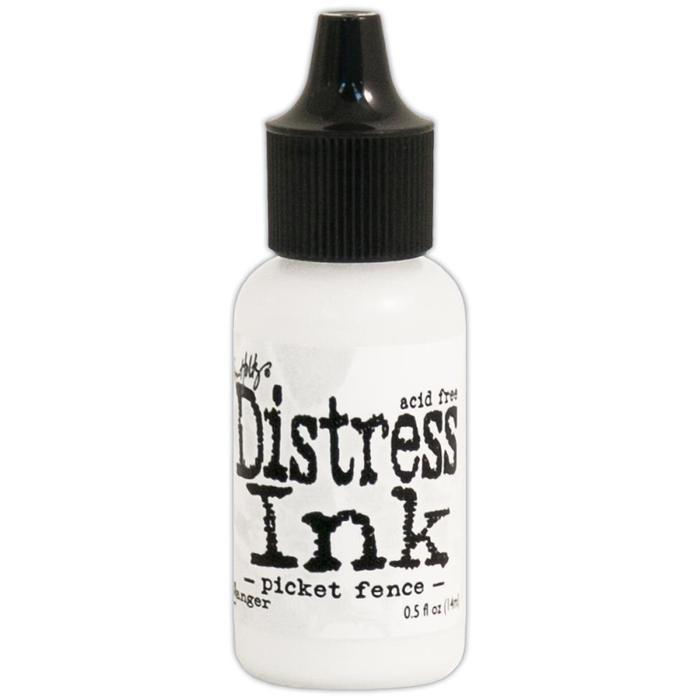 Tim Holtz Distress Pad Re-Inker .5Oz Picket Fence