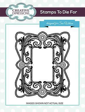 Sue Wilson Stamps To Die For - Royal Flourish Pre Cut Stamp