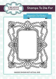 Sue Wilson Stamps To Die For - Petal Fanfare Pre Cut Stamp