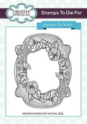 Sue Wilson Stamps To Die For - Sunny Nasturtiam Pre Cut Stamp