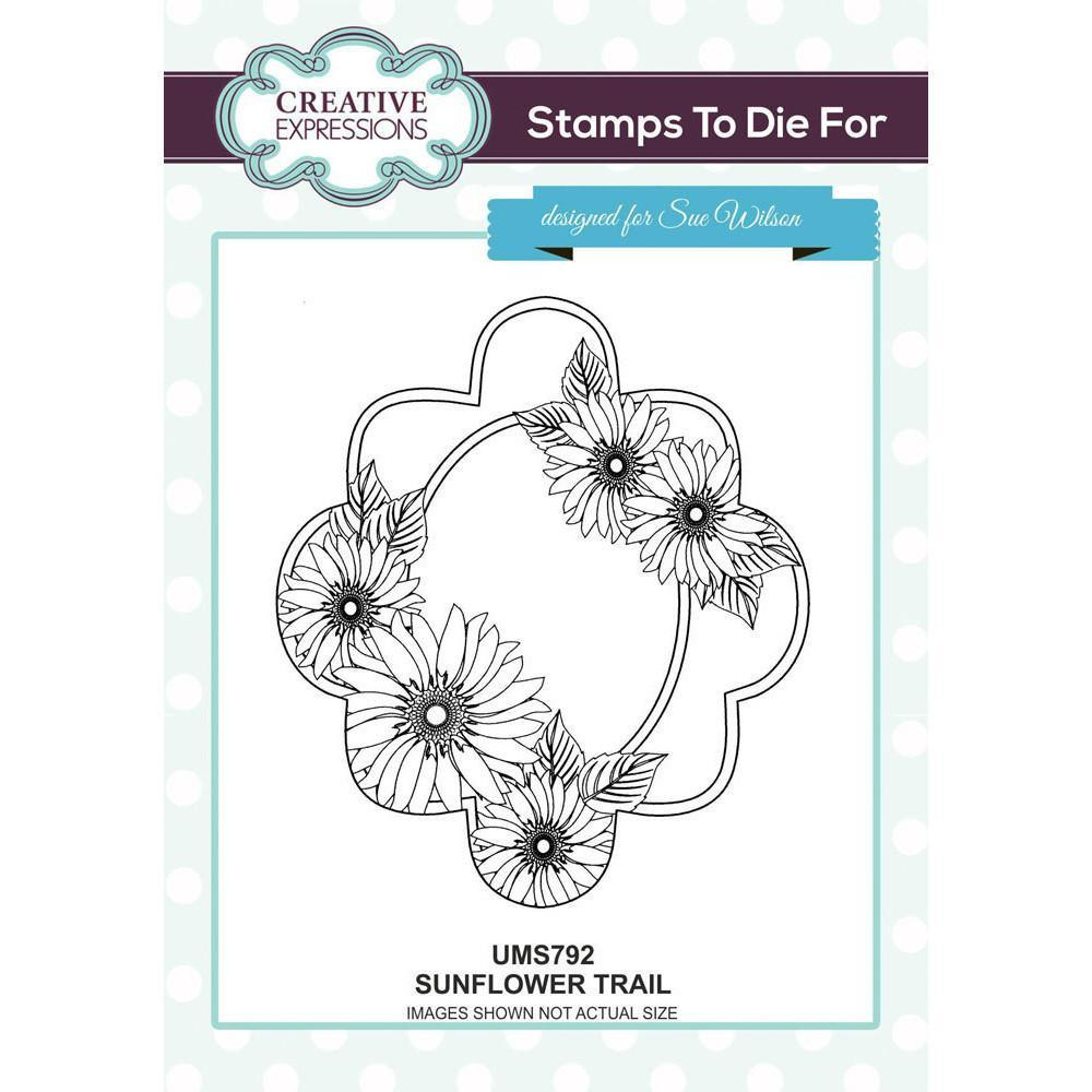 Sue Wilson Stamps To Die For - SUNFLOWER TRAIL