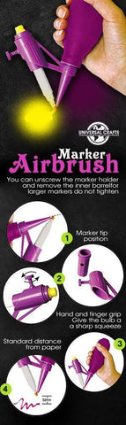 Universal Crafts - Marker Airbrush