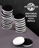 Universal Crafts - Round Ink Applicator - Replacement Foam Pads - 10 Pk