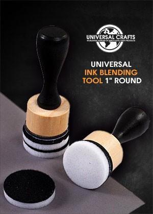Universal Crafts - Round Ink Blending Tool With Foam (1 inch)