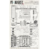49 And Market Clear Stamps 4in x 6in - Ticket Express